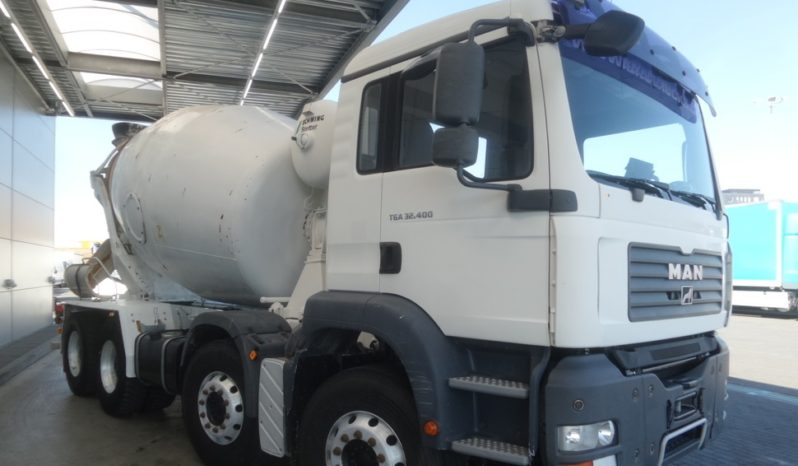 2007 MAN TGA 32.400 Concrete Mixer full