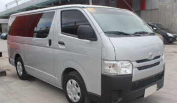 2016 Toyota Hiace 2.7L D4D full