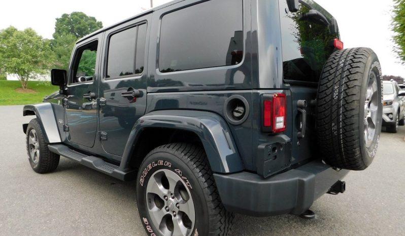 2016 Jeep Wrangler Unlimited Sahara full