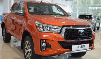 New 2019 Toyota Hilux 2.4L full