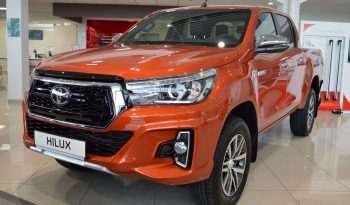 New 2019 Toyota Hilux 2.4L