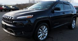 2016 Jeep Cherokee Limited High Altitude 2.4L 4×4