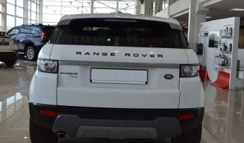 2012 Land Rover Range Rover Evoque Pure Plus 2.0L Turbo full
