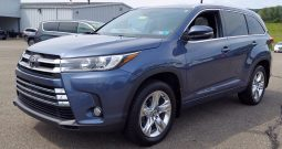 2018 Toyota Highlander Limited V6 AWD SUV